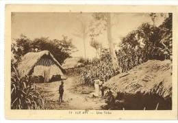 S2352 - 11 - Ile Api -Une Tribu - Nouvelle-Calédonie