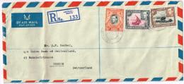 Uganda 1952/54, Michel# O 3 Briefe - Uganda (1962-...)