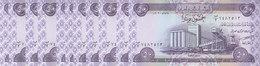 IRAQ 50 DINARS 2003 P-90 LOT OF X10 UNC NOTES */* - Iraq