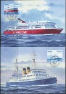 PA1439 Aland 2009 Shipping 2v Maximum Card MNH - Aland