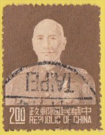 CHINA REPUBLIC (Taiwan) - Scott #1086 Chiang Kaishek / Used Stamp - 1945-... Republiek China
