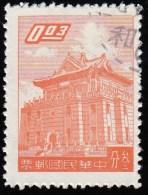 CHINA REPUBLIC (Taiwan) - Scott #1218 Chu Kwang Tower (*) / Used Stamp - 1945-... Republiek China