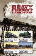 Canouan Grenadines Of St. Vincents-2014-Train-Freig Ht Locomotives - St.Vincent E Grenadine