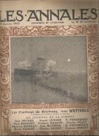 journal LES ANNALES,17 janvier 1915, le journal de la guerre, militaria  ,les coulisses du Reichstag , frais fr : 2.50�