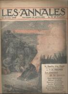 journal LES ANNALES,24  janvier 1915, le journal de la guerre, militaria  ,histoire de l�Alsace , frais fr : 2.50�