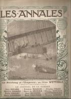 journal LES ANNALES,24  janvier 1915, avion , dirigeable, militaria  ,le Reichstag et l�empereur , frais fr : 2.50�