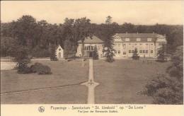 Poperinge: Sanatorium 'St Idesbald' op 'De Lovie': paviljoen der Eerwaarde zusters