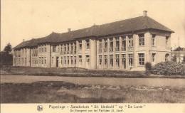 Poperinge: Sanatorium �St Idesbald� op �De Lovie�: De voorgevel van het Paviljoen St Jozef