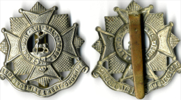 Insigne BRITANIQUE Royaume Unis - Cap Badge BEDFORDSHIRE HERTFORDSHIRE - Landmacht
