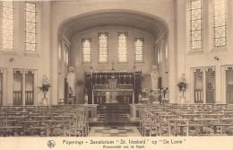 Poperinge: Sanatorium �St Idesbald� op �De Lovie�: binnenzicht van de kapel