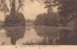 Poperinge: Sanatorium �St Idesbald� op �De Lovie�: vijver