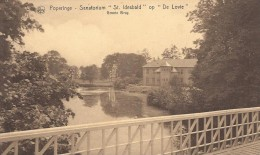 Poperinge: Sanatorium �St Idesbald� op �De Lovie�: groote brug