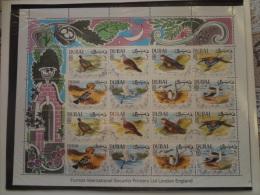 Dubai 1968 Birds (5AL) - Dubai