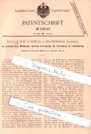 Original Patent - F. G. Lundwall In Hälleforsnäs , Schweden , 1899 , Kreiselpumpe !!! - Historische Dokumente