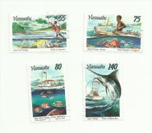 Vanuatu N°995 à 998 Cote 10.50 Euros - Vanuatu (1980-...)