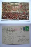 GERMANY MUNCHEN 1949 OKTOBERFEST CARD WITH SLOGAN MARK AND HANDSTAMP - München