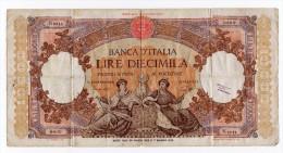 PEU COMMUN  Billet De 10 000 Lires DECRETO MIN. 14 AGOSTO 1947 - [ 2] 1946-… : République
