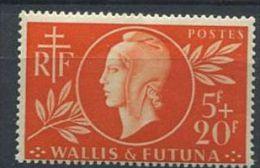 139 WALLIS Et FUTUNA 1944 - Entraide (Yvert 147) - Neuf ** (MNH) Sans Trace De Charniere - Wallis-Et-Futuna