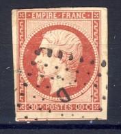 N °17A  OBLITERE 1854   Avec Ou Sans Charnière  SCAN RECTO-VERSO CONTRACTUEL - 1853-1860 Napoleon III