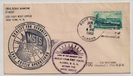 Alaska - 1962 - USNS Point Barrow Arctic Operations SEALIFT FOR SECURITY - Fort Yukon (within Artic Circle) 2-1-62 - Filatelia Polare
