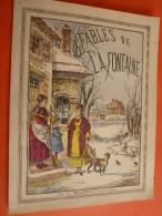 1982 FABLES De LA FONTAINE  Avec  Images  Par Imprimerie Lithographique  Pellerin & Cie à EPINAL - Livres, BD, Revues