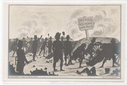 A. COULON - II Bonaparte Au Siège De Toulon 1793 - Batterie Des Hommes Sans Peur  (75687) - Illustrateurs & Photographes