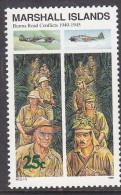 MARSHALL Is,1990 BURMA ROAD 1 MNH - Marshall Islands