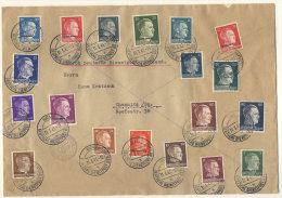 Ostland Michel No. 1 - 18 auf Brief