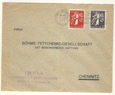 Schweiz Michel No. 345 , 346 auf Brief