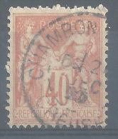 CC-/-508-. N° 94,  Obl.  , COTE 2.00 € ,  Voir Scan Pour Detail ,  Liquidation , A SAISIR - 1876-1898 Sage (Tipo II)