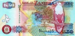 NEUF : BILLET DE 50 KWACHA - ZAMBIE / ZAMBIA - 2007 - Zambia