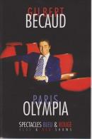 GILBERT BECAUD à L'OLYMPIA 1988 - DVD Musicaux
