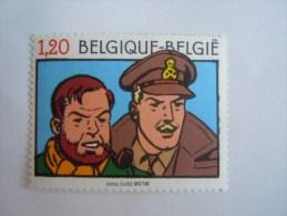 België Belgique 2004 BD Edgar P. Jacobs Blake & Mortimer COB 3283 Timbre Du BL 112 Yv 3270 Timbre Du Bloc 102 MNH ** - Belgium