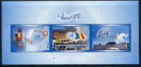 ROMANIA 2005 United Nations Day Block MNH / **.  Michel Block 363 - Blocs-feuillets