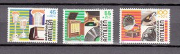 Nederlandse Antillen Antilles 1984,3V,set,music,muziek,musik,musique,música,musica,MH/O Ngebruikt(A1522) - Kunst
