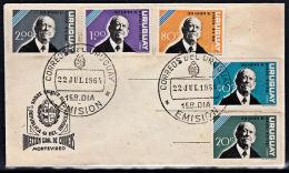 B0067 URUGUAY 1964, Luis Alberto De Herrera,  FDC - Uruguay
