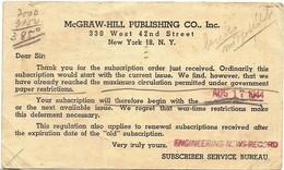 United States McGraw-Hill Publishing CO., Inc. New York 18, N.Y. - United States