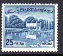 Pakistan 1961 25 Paisa Definitive, MNH (D) - Pakistan