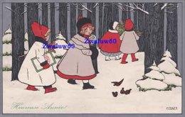 Pauli Ebner, M.M. Vienne, M. Munk Nr. 549 : Heureuse Année, Enfants Dans La Neige: Bon état - Ebner, Pauli