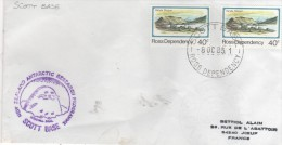 ROSS DEPENDENCY  SCOTT BASE  New Zealand Antartic Research Programme  8/10/85 - Dipendenza Di Ross (Nuova Zelanda)