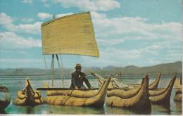 BOLIVIE -   Balzas De Totora - Lago Titicaca - Bolivie