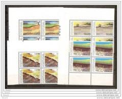 1978 Portogallo Portugal RISORSE NATURALI  NATURAL RESOURCES 4 Serie Di 4v. (1373/76) In Quartina AF MNH** - Protezione Dell'Ambiente & Clima