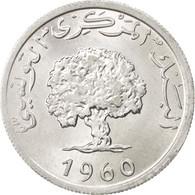 Tunisie, République, 5 Millim 1960, KM 282 - Tunisie