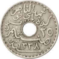 Tunisie, 25 Centimes 1920, KM 244 - Tunisie