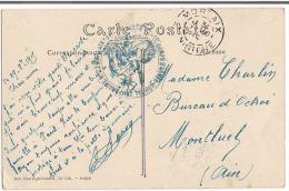 Carte F M 1915 Corps D'Armée Hopital Temporaire N° 22 Morlaix - Guerra Del 1914-18