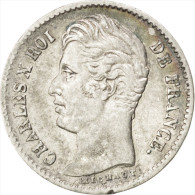 Charles X, 1/4 Franc 1830 A, KM 722.1 - France