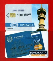 "GREECE: Y-005 ""Ethnokarta"" Rare (50.000ex) 05/93 USED - Greece"