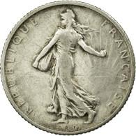 Monnaie, France, Semeuse, Franc, 1906, TB+, Argent, KM:844.1, Gadoury:467 - Francia