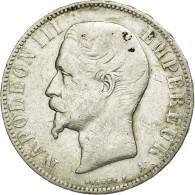 Monnaie, France, Napoleon III, Napoléon III, 5 Francs, 1856, Paris, TB+ - France