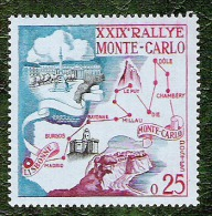 Monaco - YT N°524 - Rallye Automobile De Monte Carlo / Sports - 1960 - Neuf - Monaco